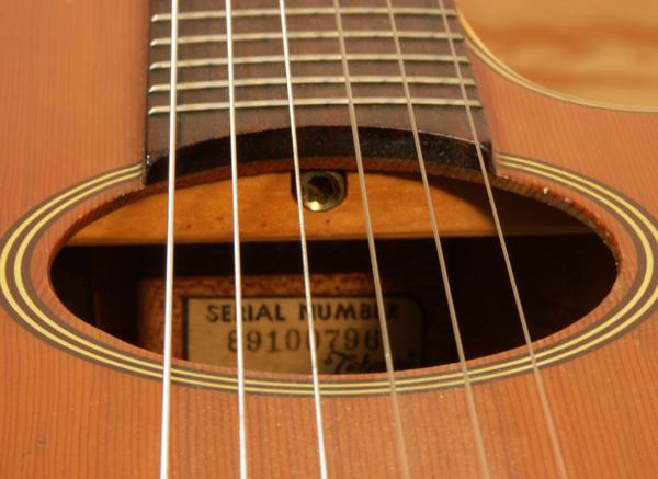 guitare classique truss rod
